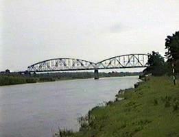 Ж/д мост в Елизово.