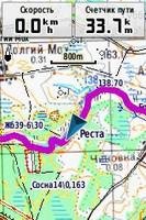 """45 fill 133x200 - Водный маршрут """"Река Реста"""""""